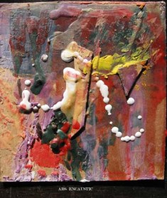 Abstract Encaustic