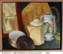 Coffee Pot Reflection